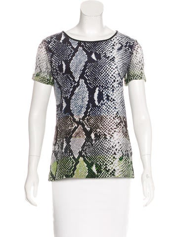 Diane von Furstenberg Silk Ora Top None