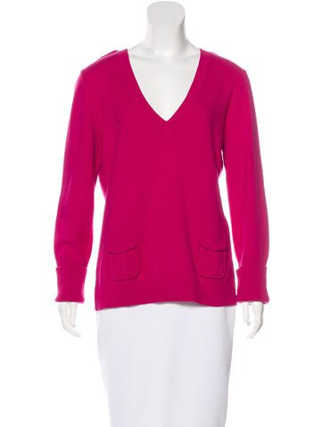 Diane von Furstenberg Wool & Cashmere-Blend Sweater None
