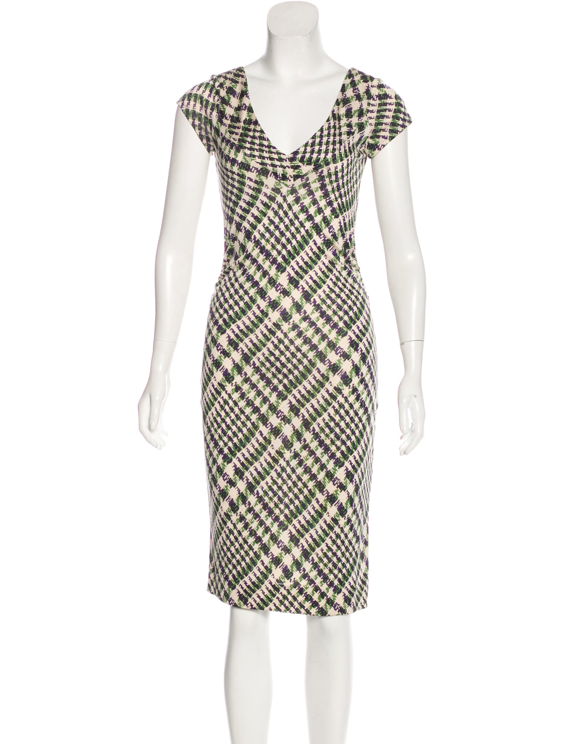 Diane von furstenberg estovan silk dress clothing for Diane von furstenberg clothes