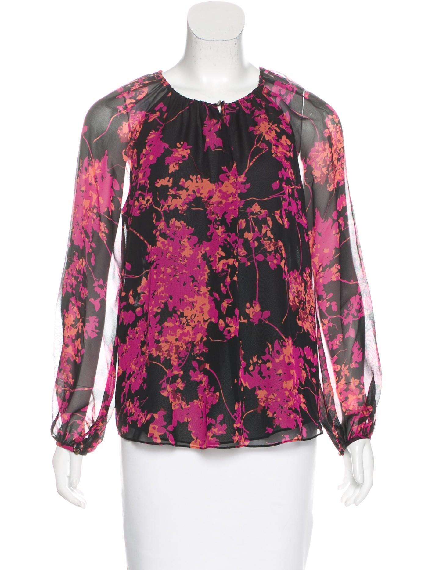 Diane von furstenberg marnie silk blouse clothing for Diane von furstenberg shirt