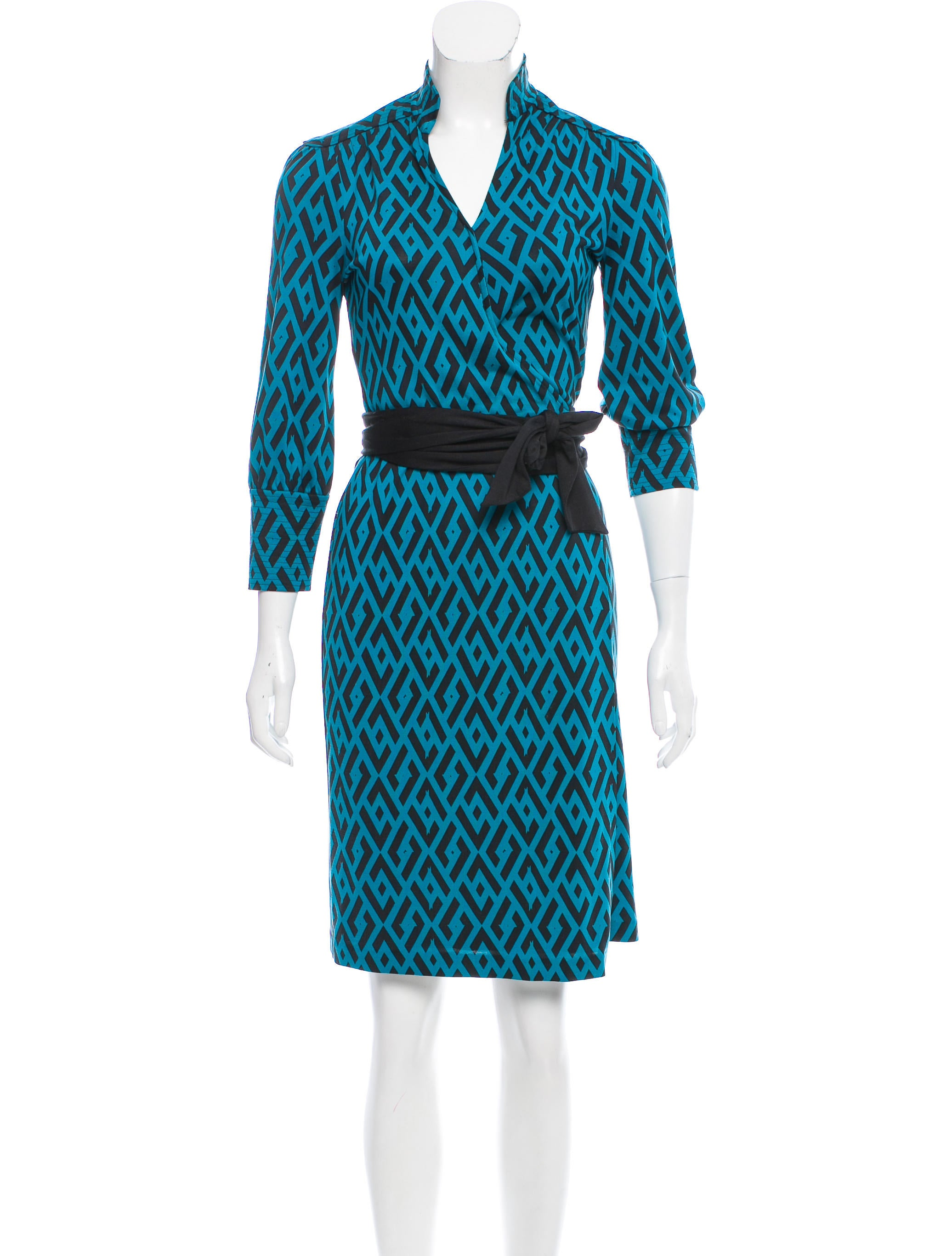 Diane von furstenberg tessa wrap dress clothing for Diane von furstenberg clothes
