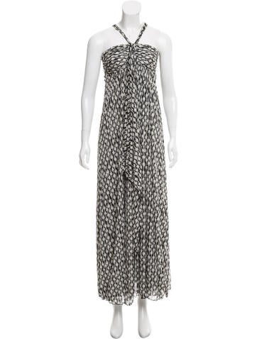 Diane von Furstenberg Kirsten Silk Dress None