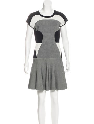 Diane von Furstenberg Renee Mini Dress None
