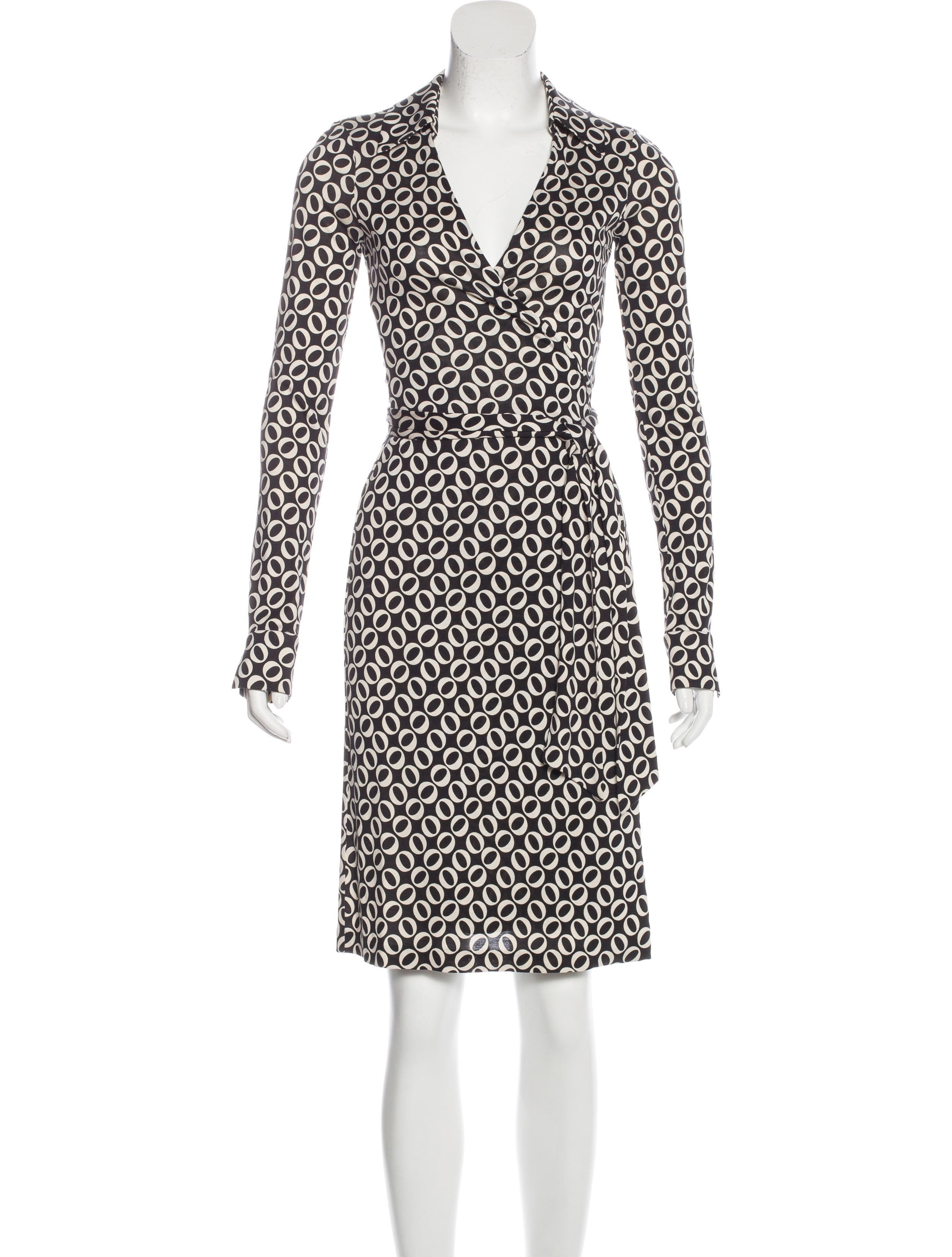 Diane von furstenberg jeanne wrap dress clothing for Diane von furstenberg clothes