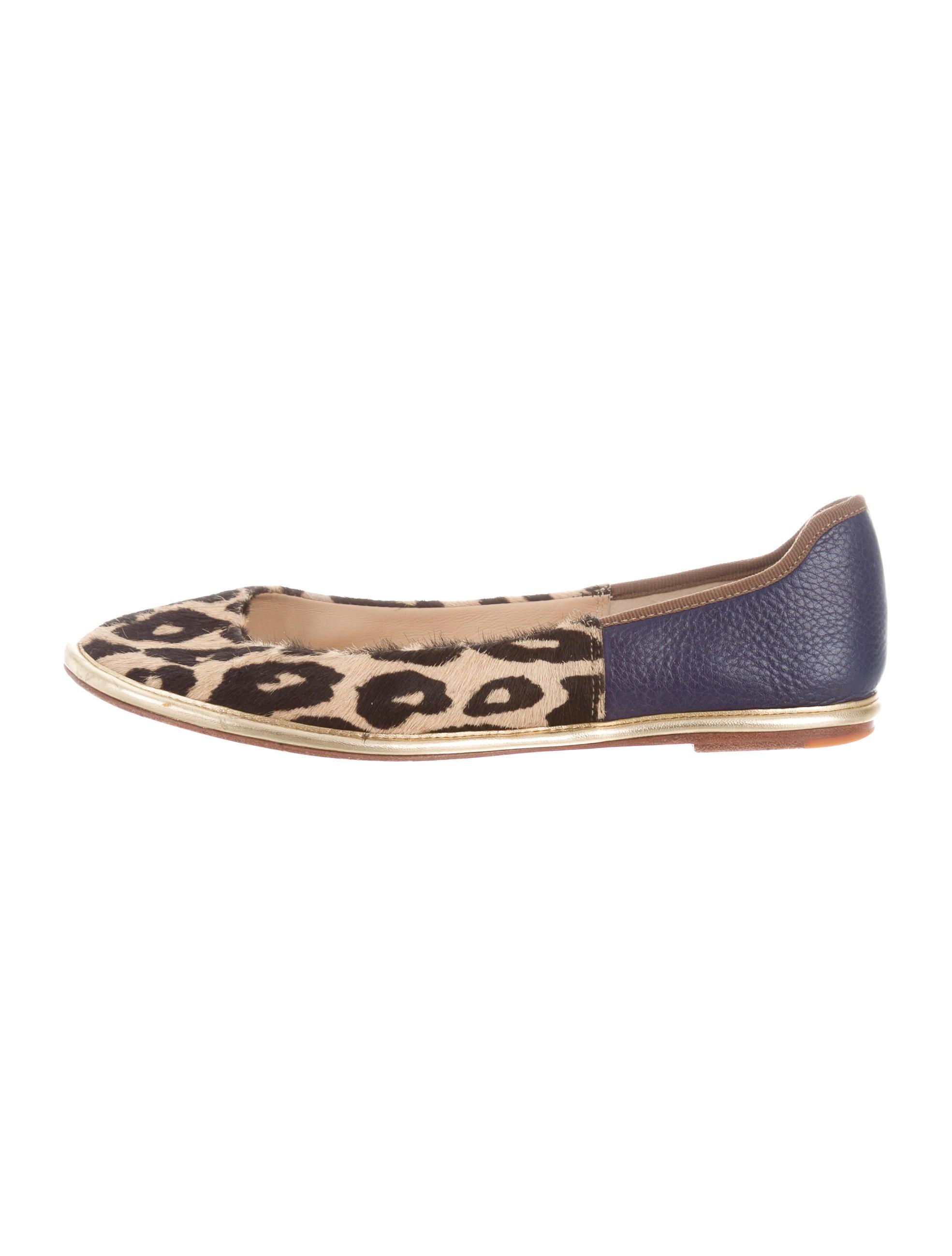 Diane von Furstenberg Ponyhair Round-Toe Flats discount newest cheap sale newest SHFgmx6Rl