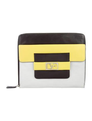 Diane von Furstenberg Zip iPad Case None