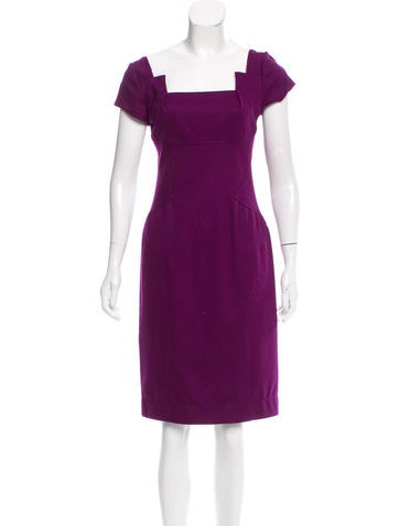 Diane von Furstenberg Wool Marciela Dress None
