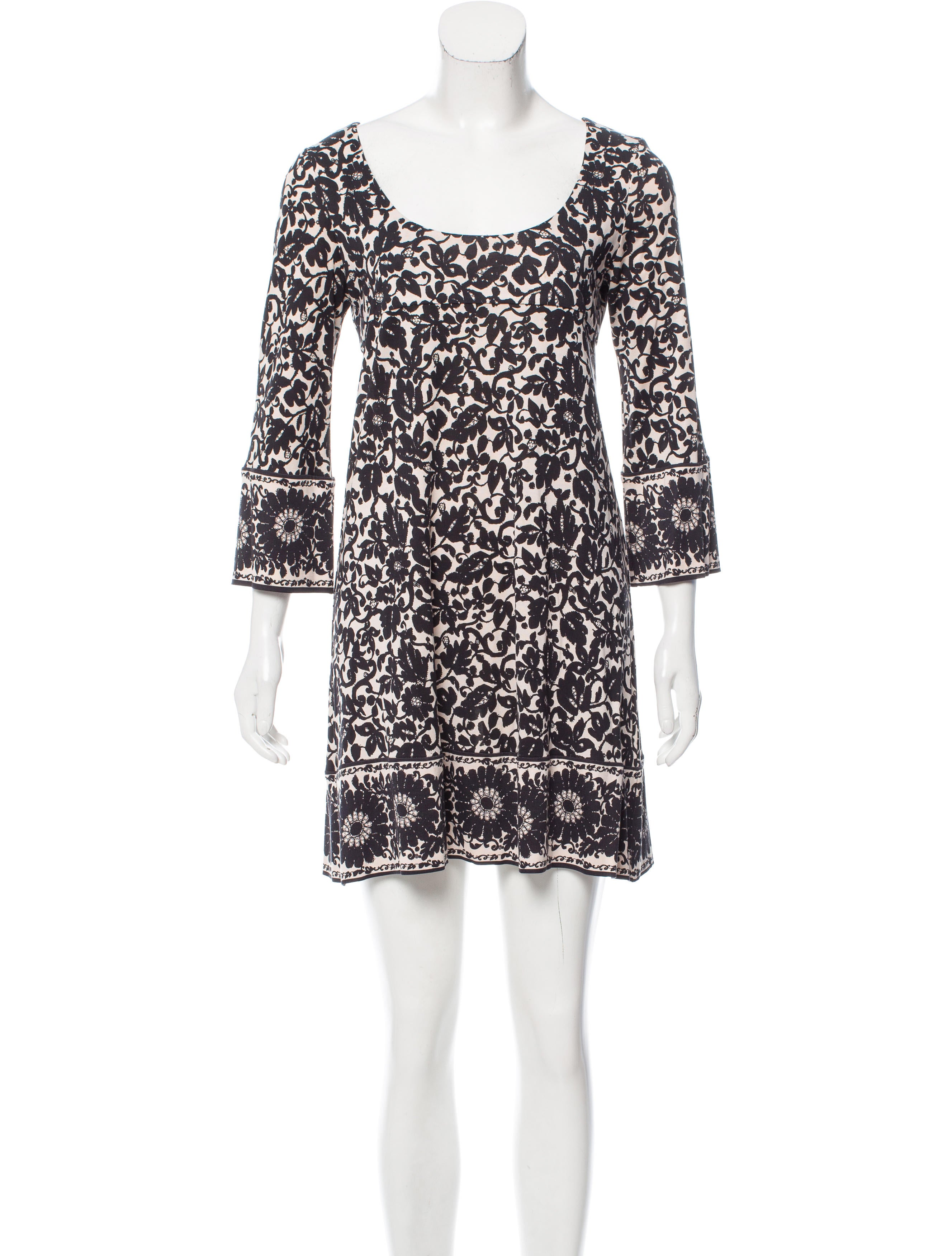 Diane Von Furstenberg Silk Laetitia Dress Clothing