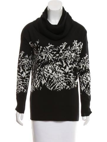 Diane von Furstenberg Patterned Wool Sweater None