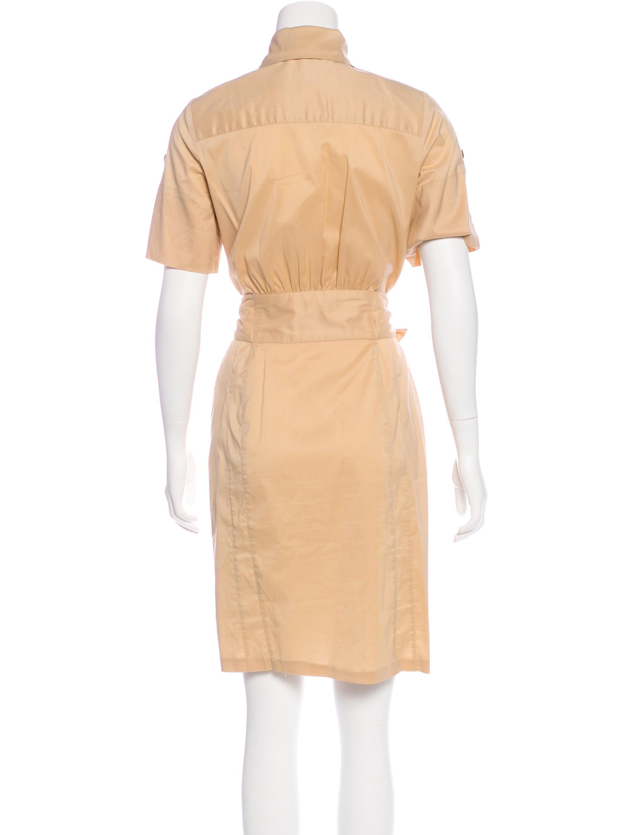 Diane von furstenberg short sleeve knee length dress for Diane von furstenberg shirt