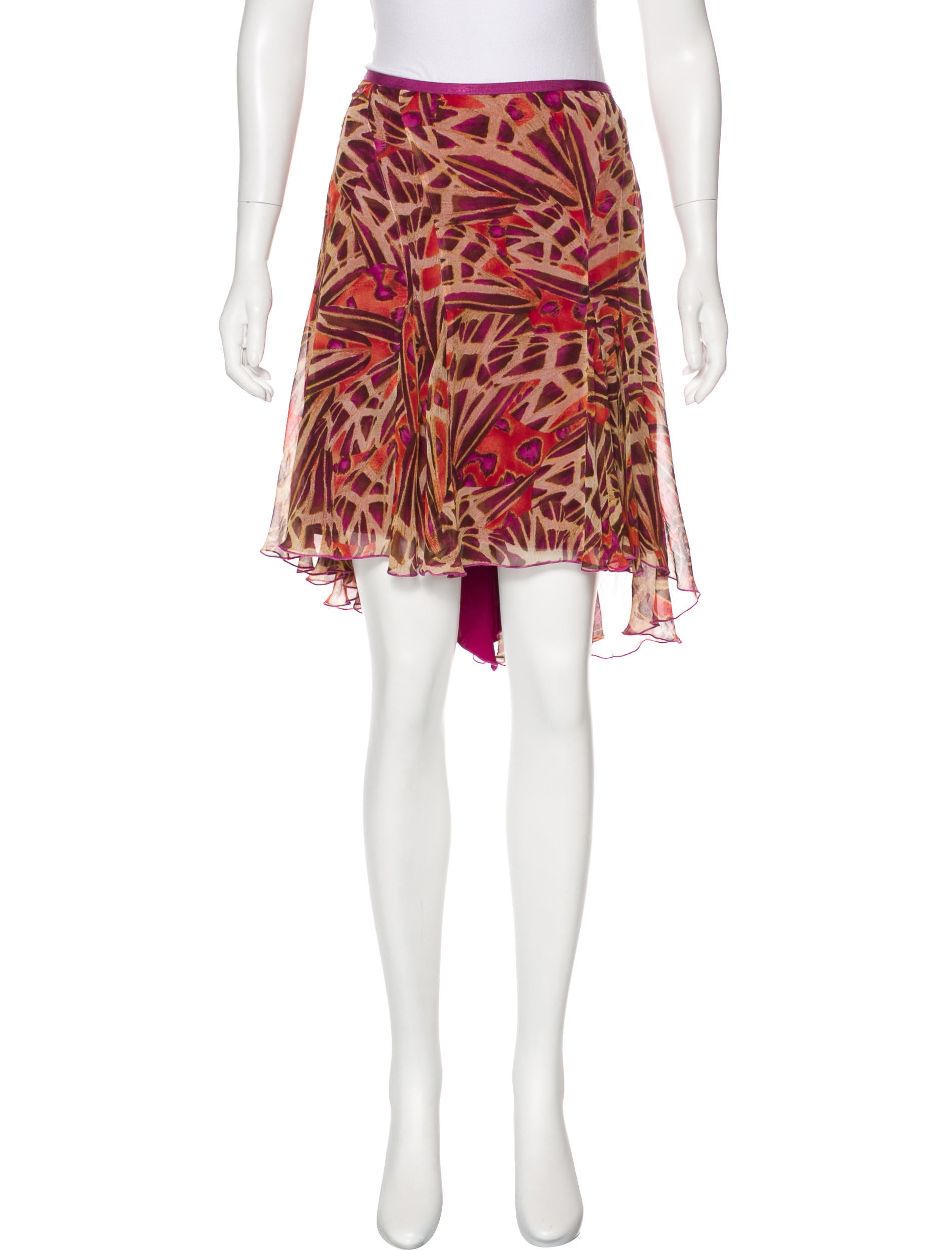 Diane Von Furstenberg Mauritius Silk Skirt Clothing Wdi110722 The Realreal