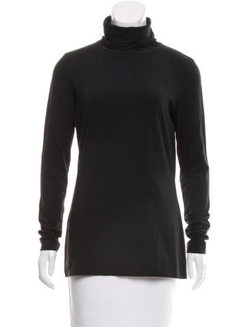 Diane von Furstenberg Carlos Turtleneck Top None