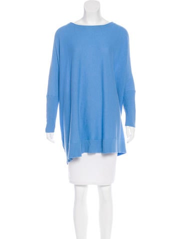 Diane von Furstenberg Dropped Shoulder Knit Sweater None