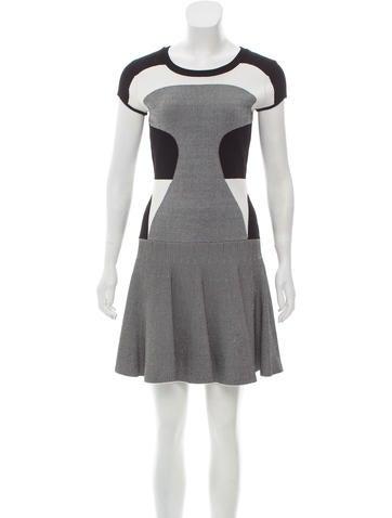 Diane von Furstenberg Patterned Mini Dress None