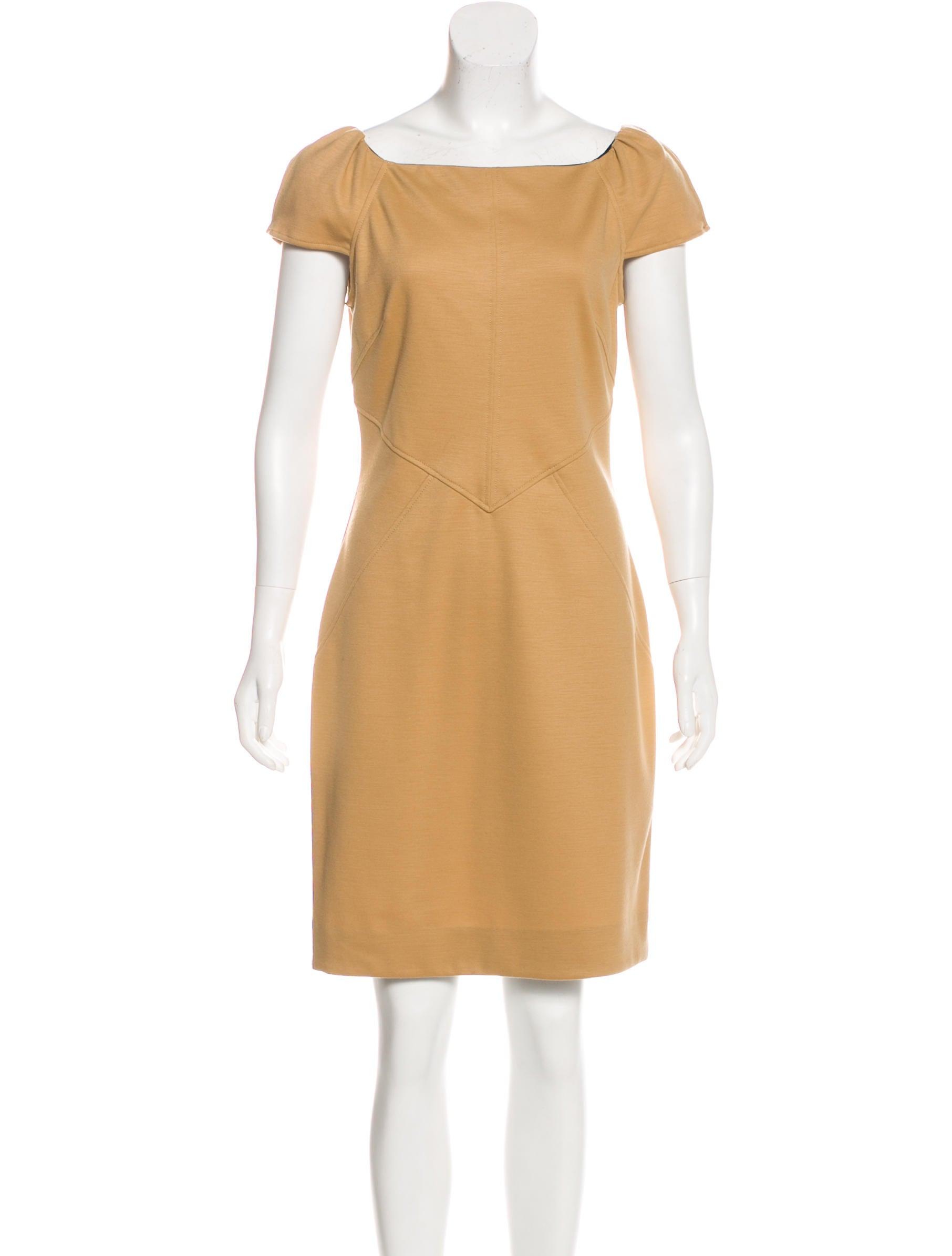 Diane von furstenberg helen wool dress clothing for Diane von furstenberg shirt