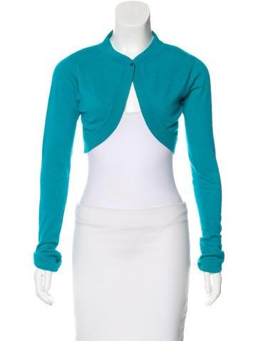 Diane von Furstenberg Cashmere Cropped Sweater None