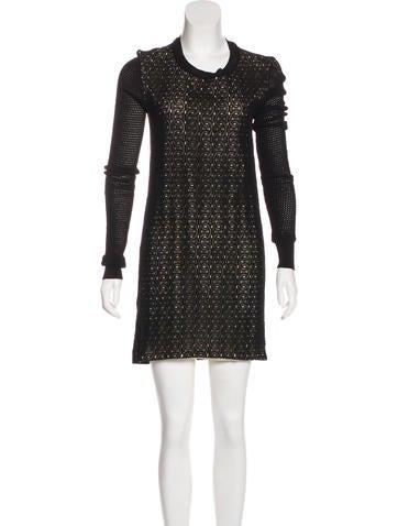Diane von Furstenberg Linot Bis Mini Dress None