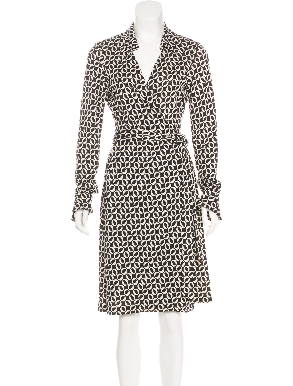 Diane von furstenberg jeanne wrap dress clothing for Diane von furstenberg shirt