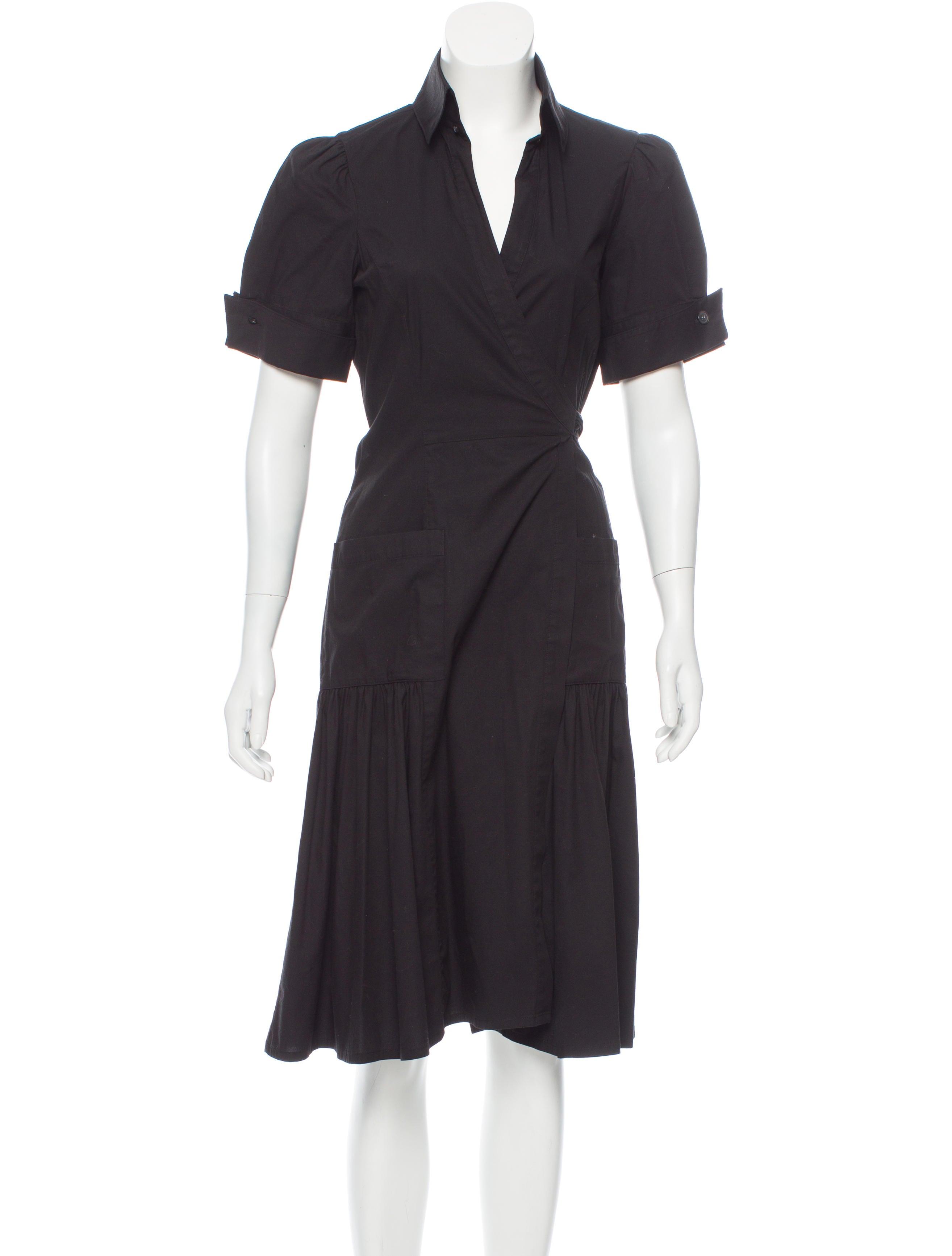 Diane von furstenberg bellette wrap dress clothing for Diane von furstenberg shirt