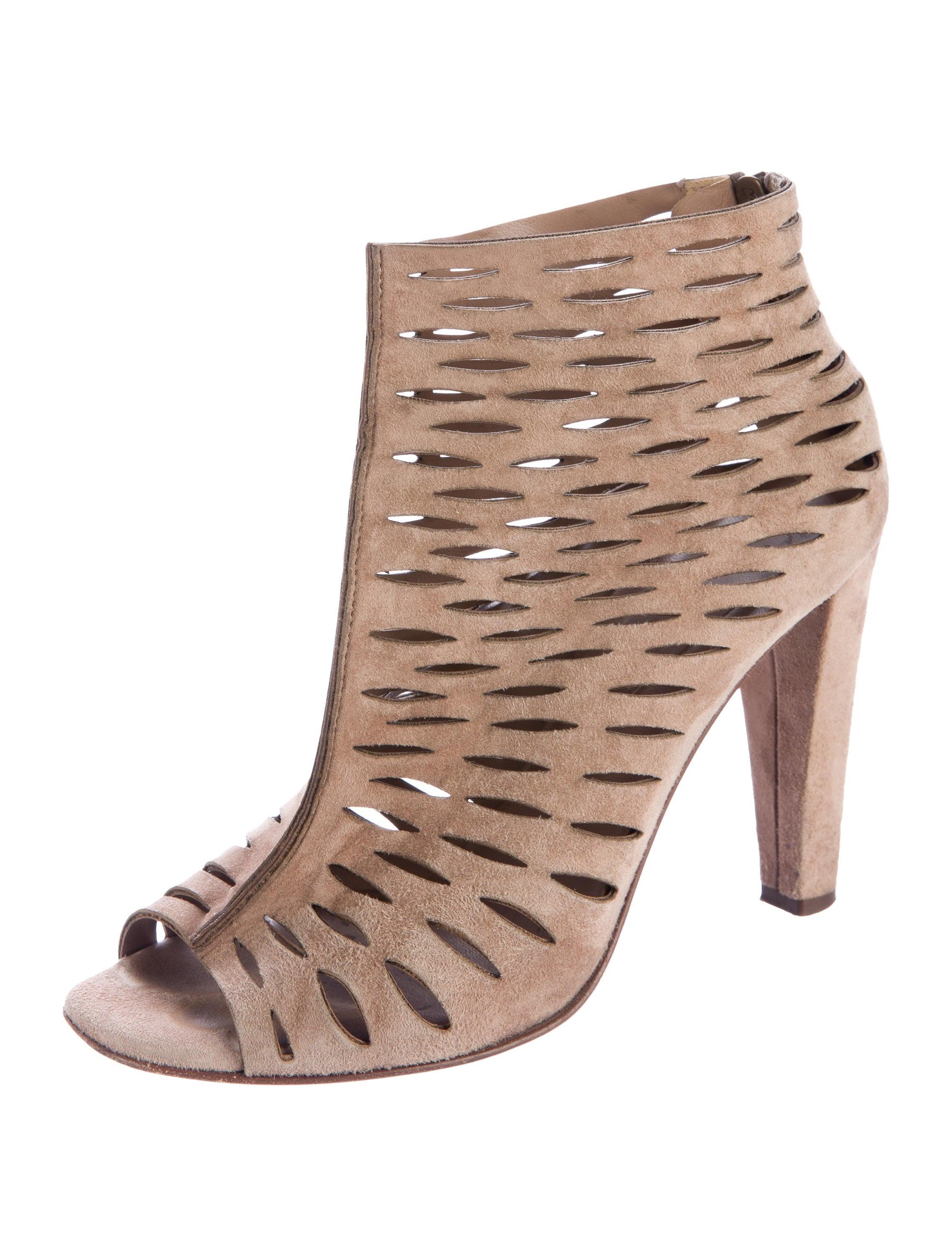 Diane von Furstenberg Alexandria Laser Cut Ankle Boots visit ebay online visit new for sale PoC0F