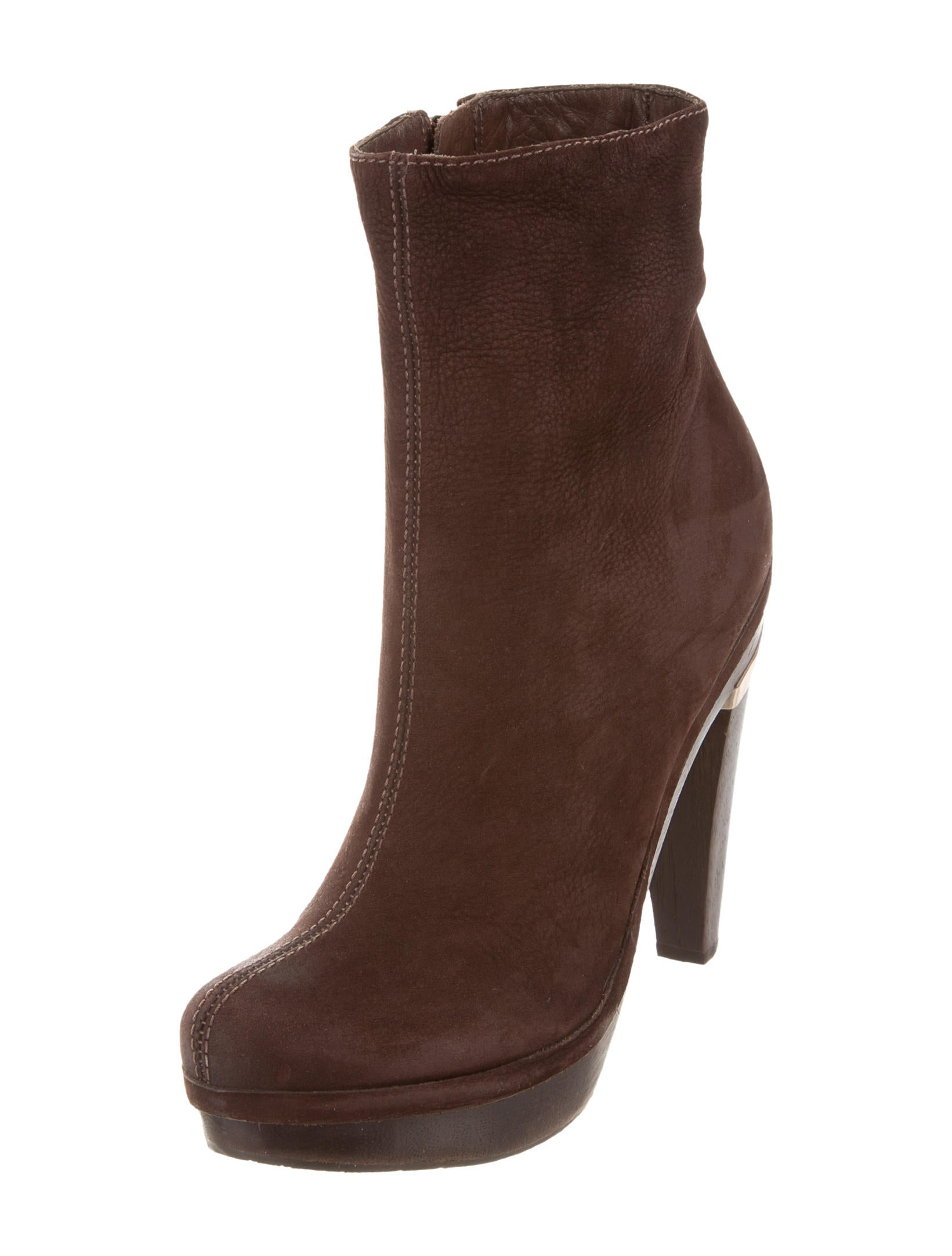 Shop leather platform ankle boots at Neiman Marcus, where you will find free shipping on the latest in fashion from top designers.