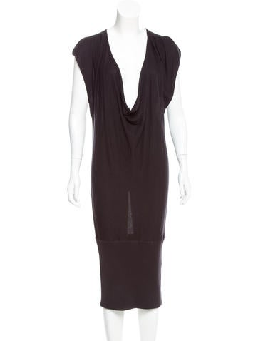Diane von Furstenberg Silk Sleeveless Dress None
