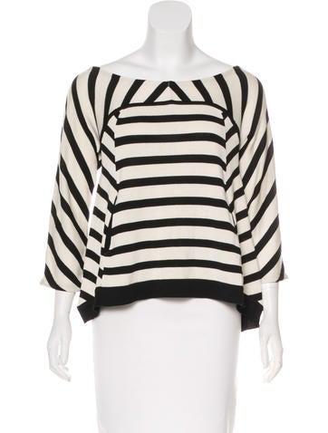 Diane von Furstenberg Meka Silk Sweater None