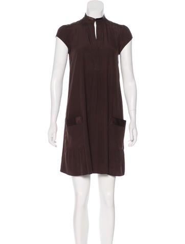Diane von Furstenberg Silk Mini Dress None