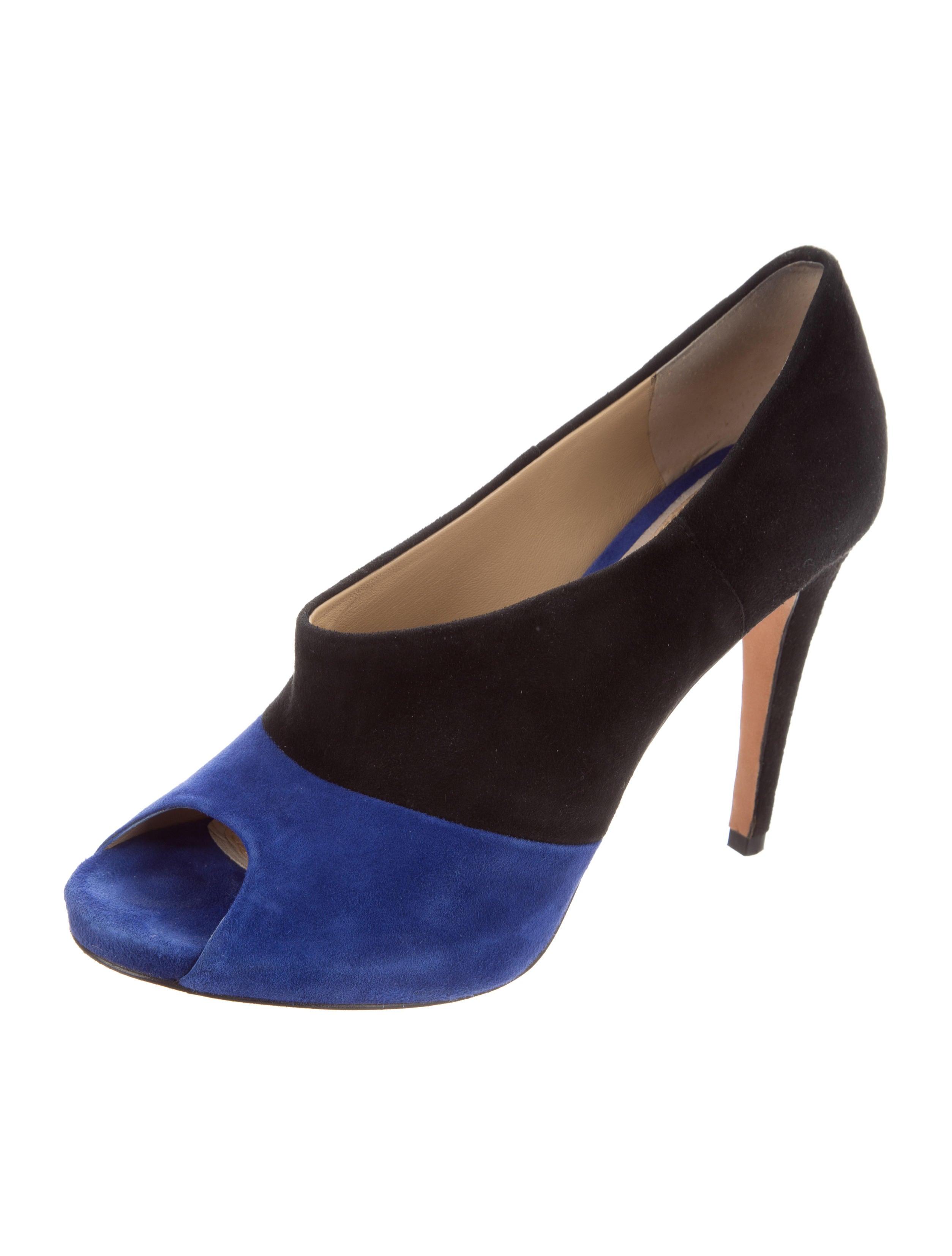 free shipping sast Diane von Furstenberg Judith Peep-Toe Booties buy online free shipping exclusive uuqxRQW0