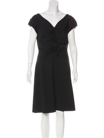 Diane von Furstenberg Samaya Ruffled Dress None