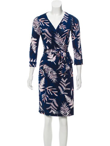 Silk Wrap Dress