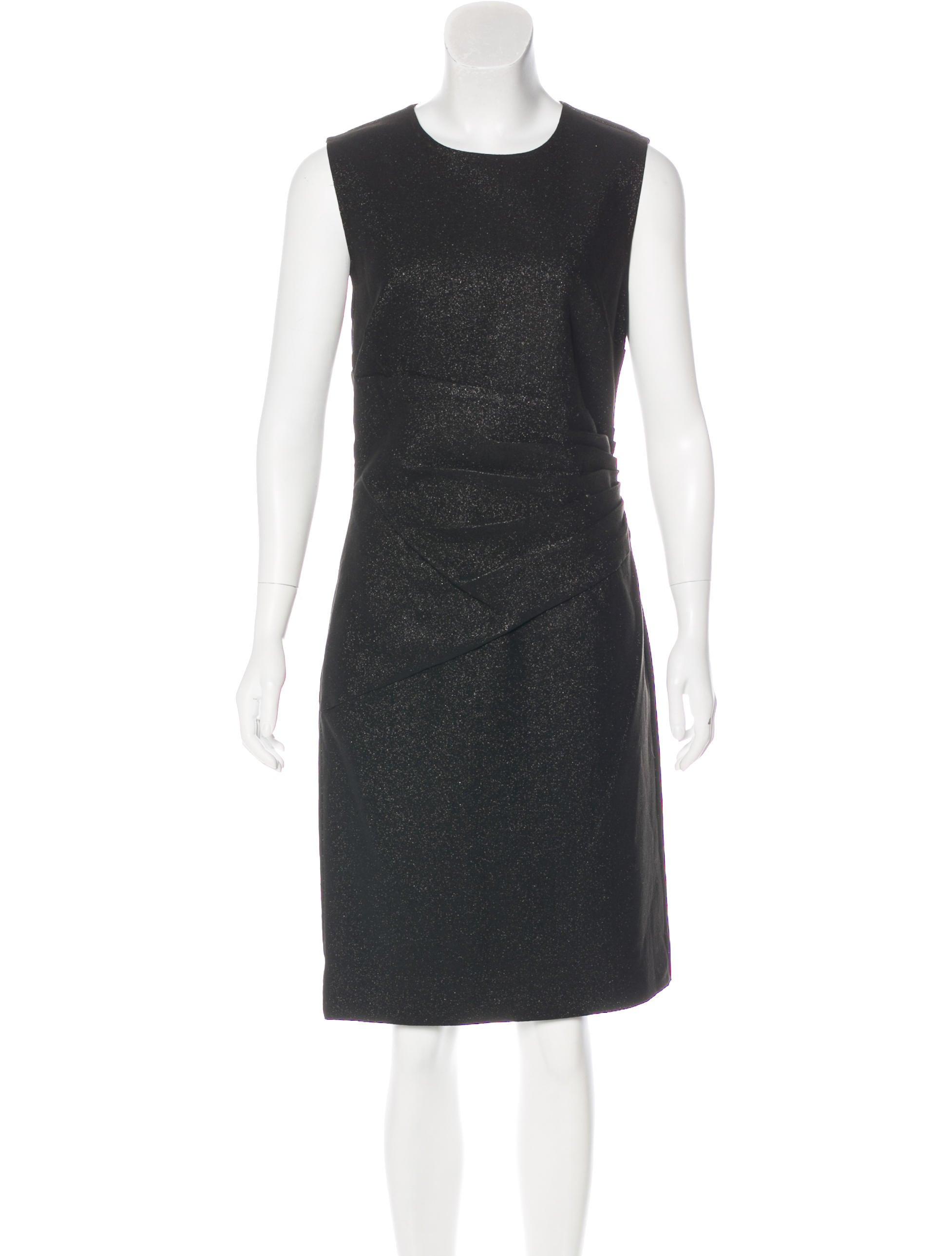 Diane von Furstenberg Sleeveless Midi Dress w/ Tags Cheap Official M2ksWJk