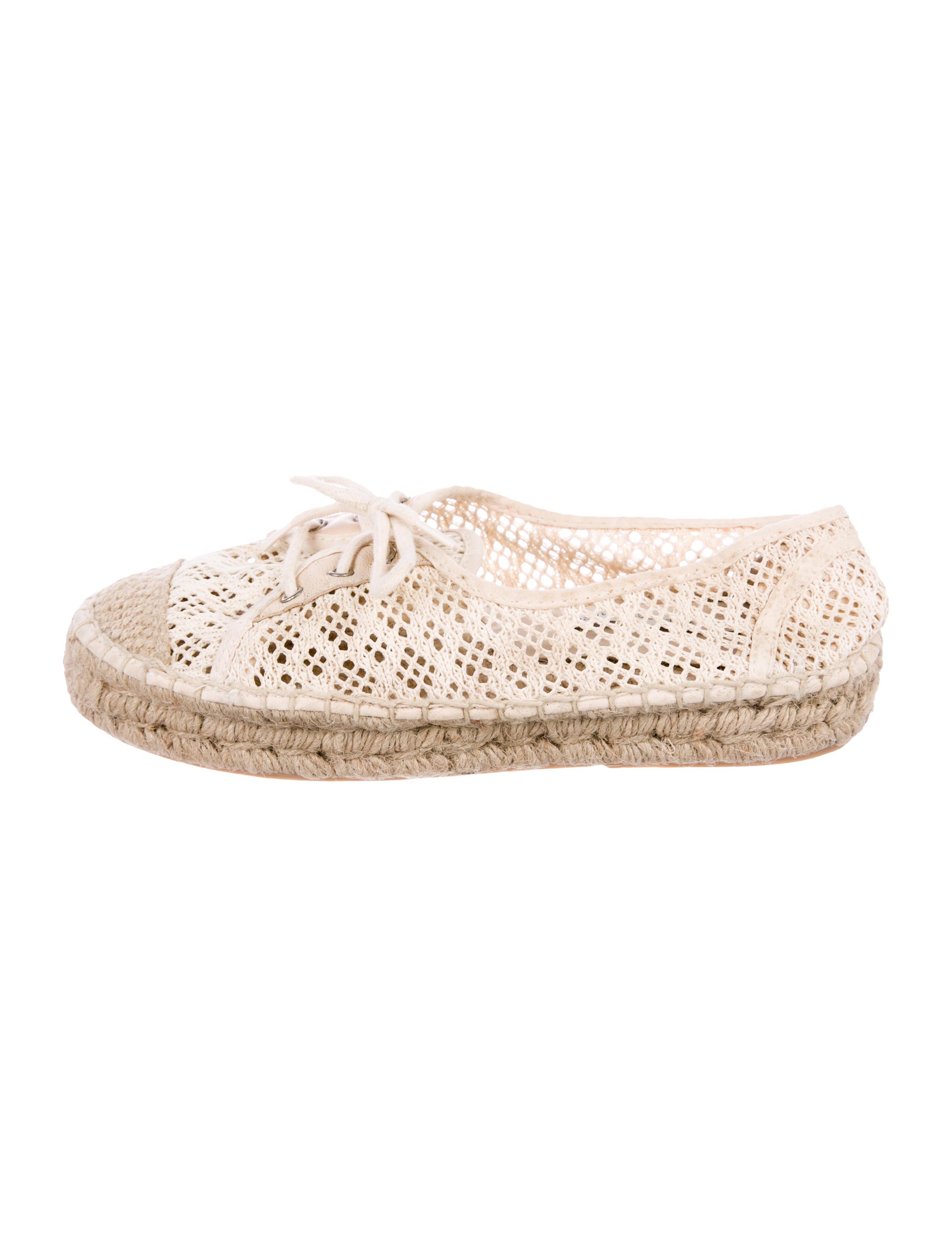 Diane von Furstenberg Crochet Espadrille Sneakers cheap discount sale S9sAul4F4
