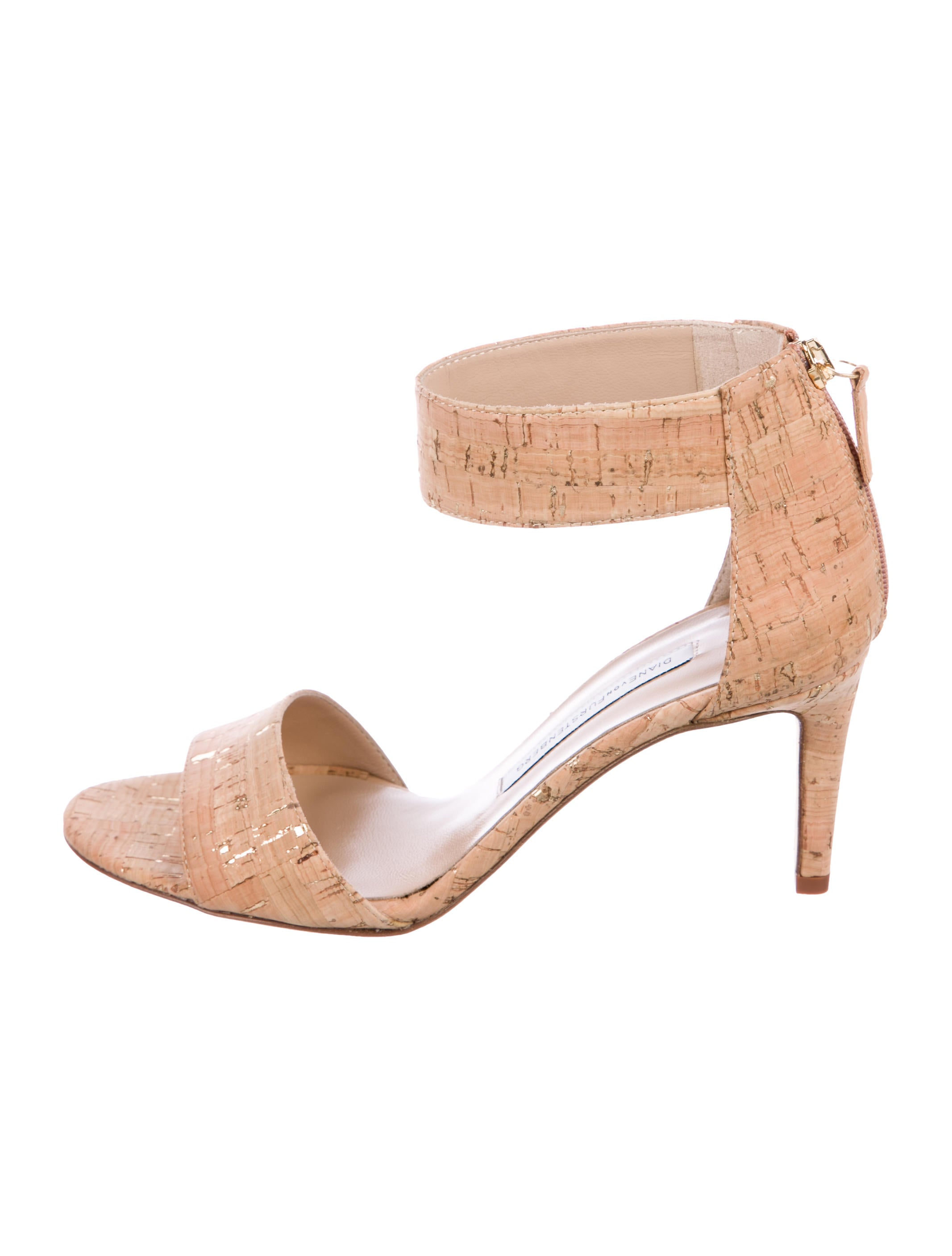 Diane von Furstenberg Kinder Cork Sandals w/ Tags free shipping discount outlet cheap price clearance nicekicks 7FTZT4juvi