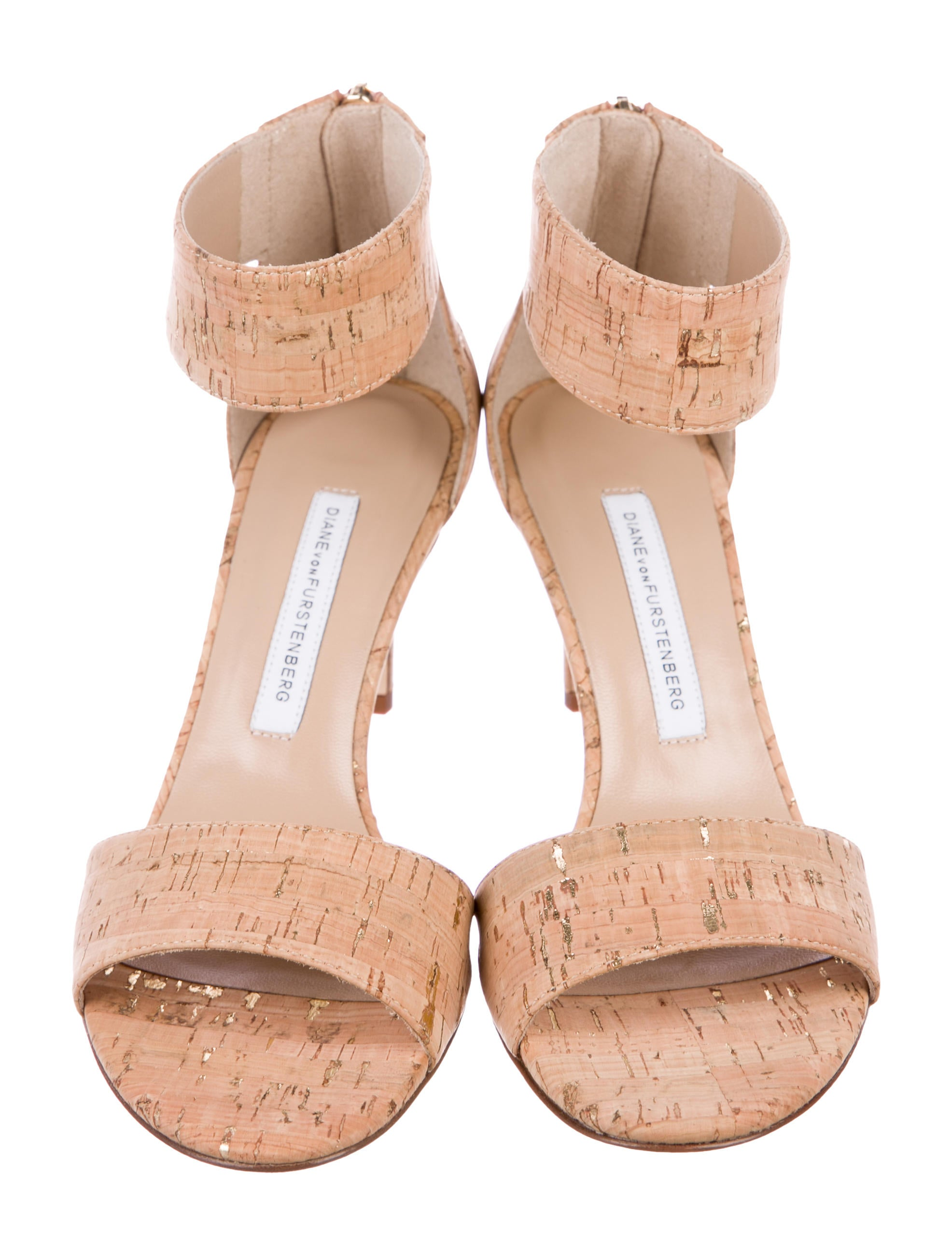 latest for sale Diane von Furstenberg Kinder Cork Sandals w/ Tags with paypal amazing price sale online free shipping 2015 new 2014 new q7aOG