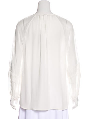 Silk Taylor Button-Up w/ Tags