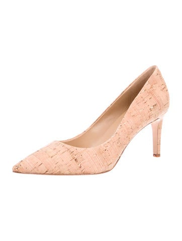 Diane von Furstenberg Pointed-Toe Cork Pumps w/ Tags