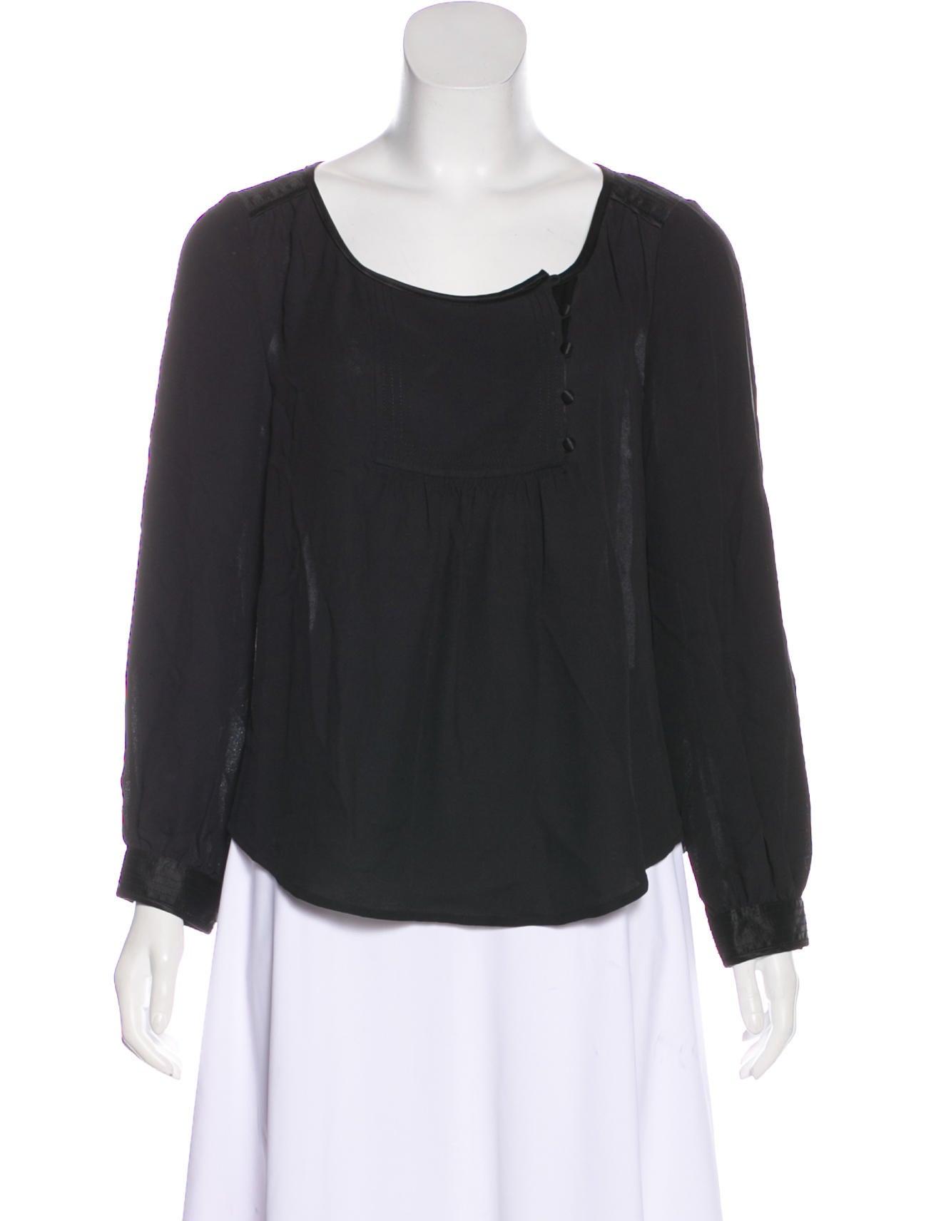 Diane Von Furstenberg Laos Silk Blouse Clothing Wdi142854 The