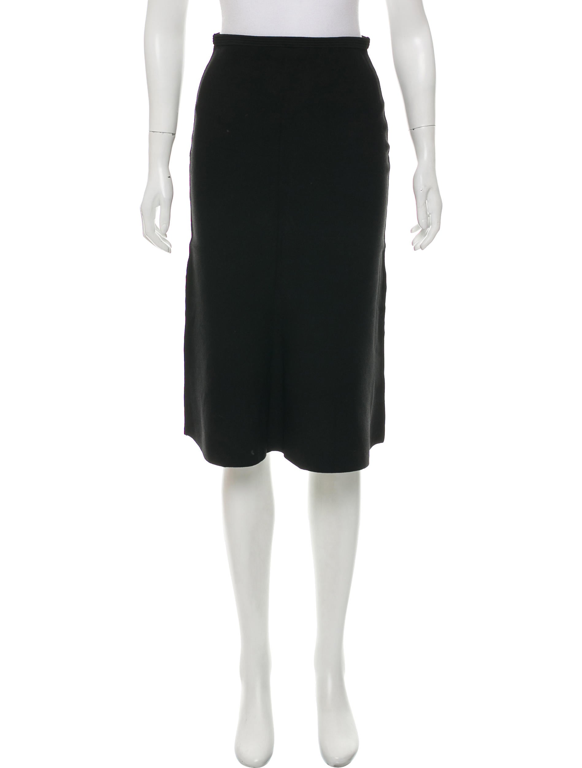 Diane von Furstenberg Bodycon Knee-Length Skirt w/ Tags - Clothing -           WDI166306 | The Real
