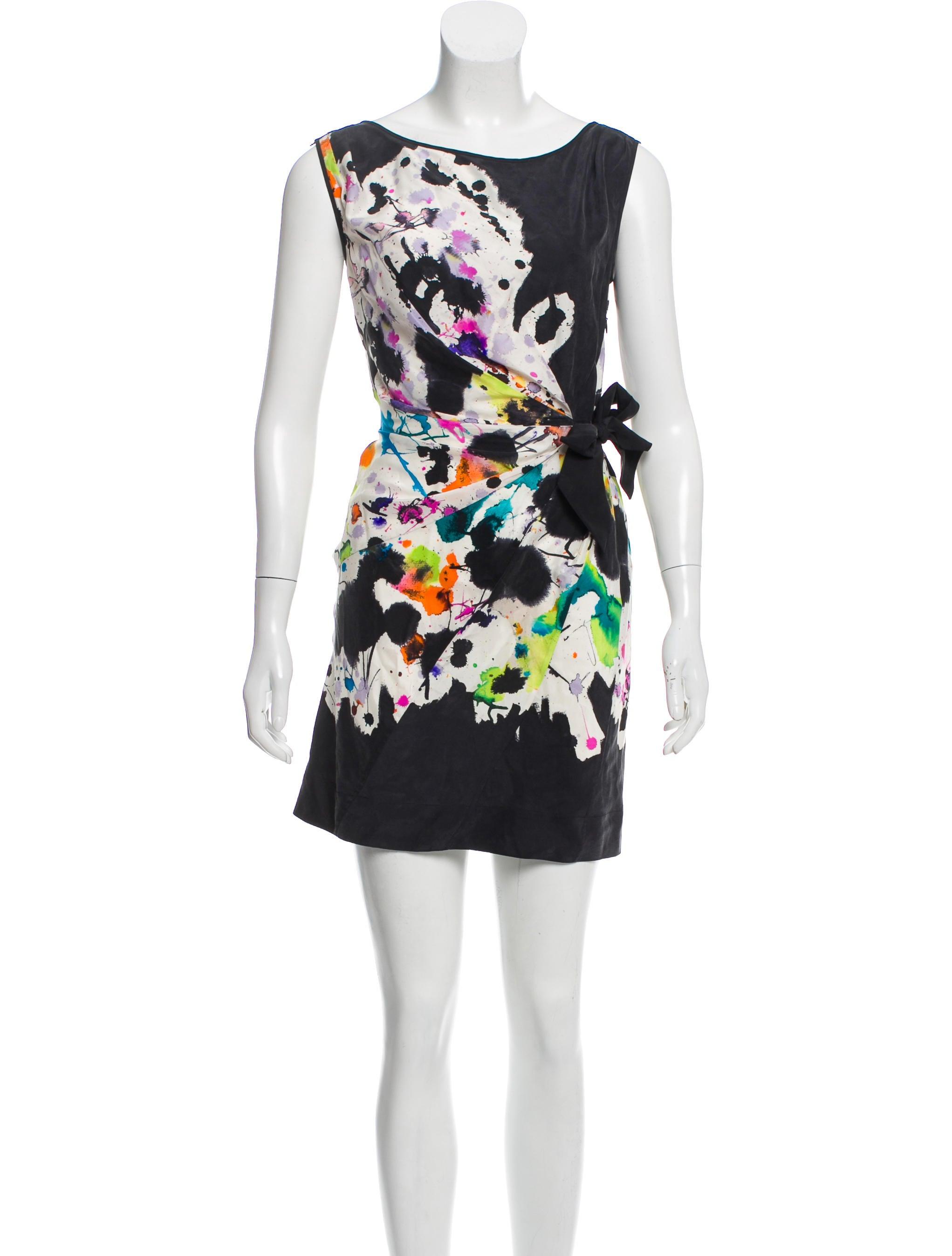 Diane von Furstenberg Tella Mini Dress - Clothing -           WDI177575 | The RealReal