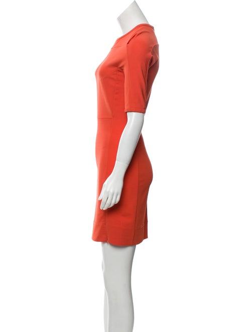 Crew Neck Mini Dress