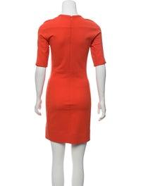 Crew Neck Mini Dress image 3