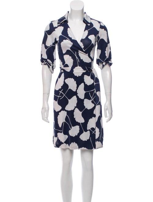 Diane von Furstenberg Jessica Wrap Dress Black