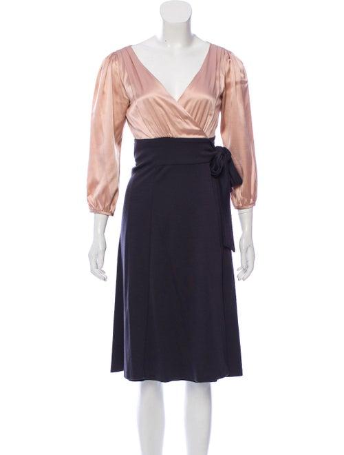 Diane von Furstenberg Bennet Wrap Dress wool