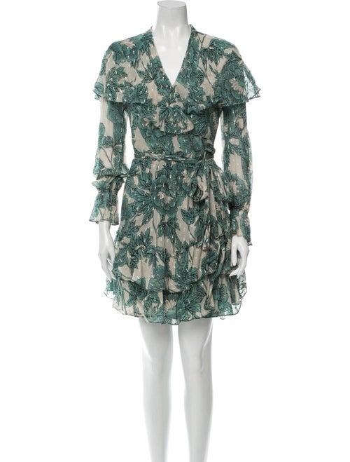 Diane von Furstenberg Silk Floral Print Dress Set