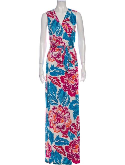 Diane von Furstenberg Silk Long Dress