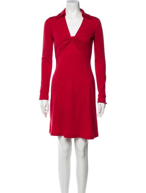 Diane von Furstenberg DVF Twist Knee-Length Dress