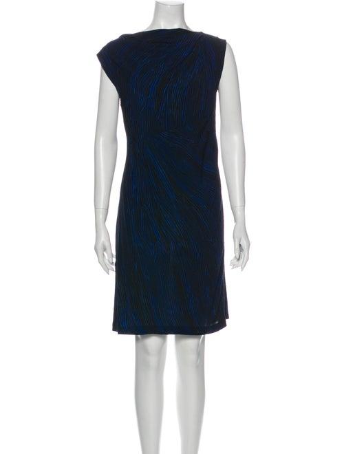 Diane von Furstenberg Mattie Mini Dress Blue