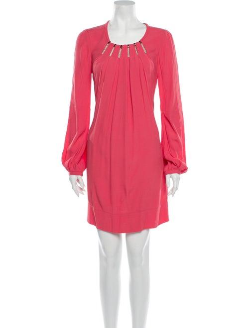 Diane von Furstenberg Beres Mini Dress Pink