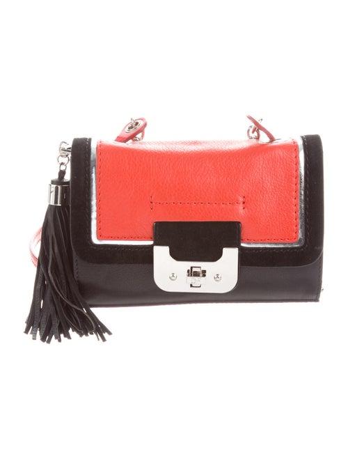 Diane von Furstenberg Leather Crossbody Bag Black